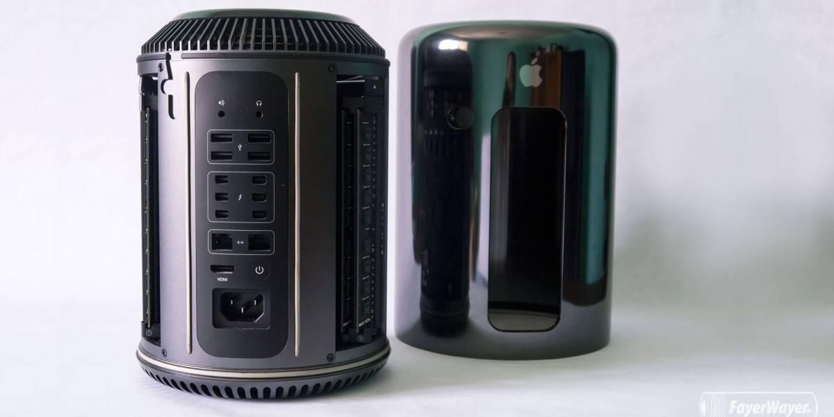 """Apple reconoce que el """"rediseño"""" del Mac Pro no fue una muy buena idea"""