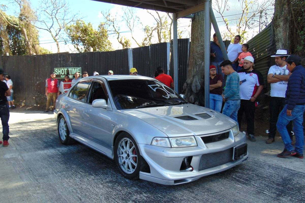 Manuel López fue el más rápido en su Evolution 6.