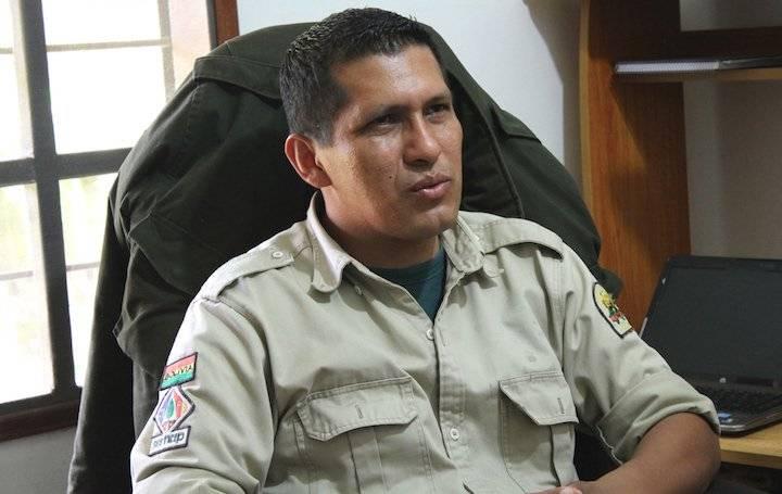 Marcos Uzquiano desde hace 15 años trabaja en el Servicio Nacional de Áreas Protegidas (Sernap)