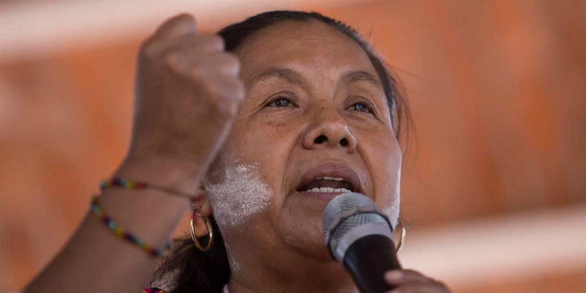Grupo armado ataca caravana de Marichuy en Michoacán