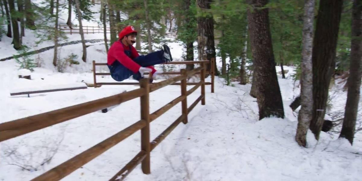 Publican video que mezcla parkour con Super Mario Run