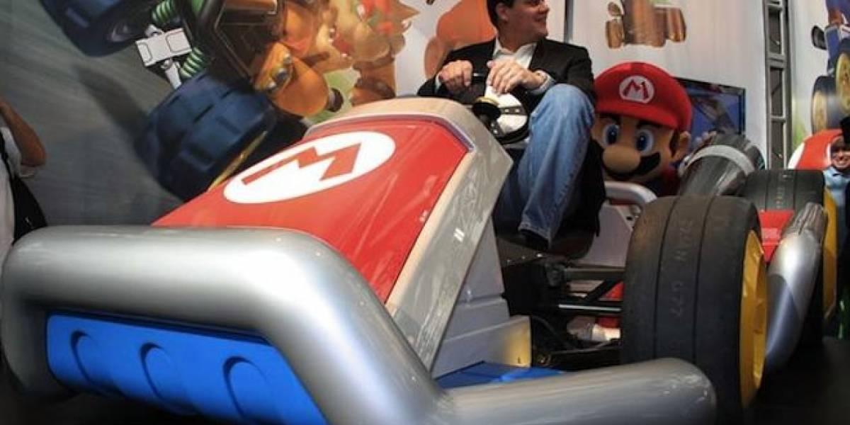 Nintendo muestra los autos de Mario Kart en el Auto Show de Los Ángeles
