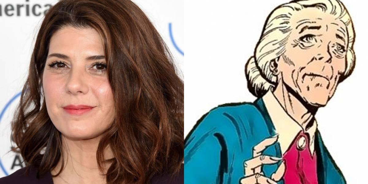 Marisa Tomei será la Tía May en la nueva película de Spider-Man