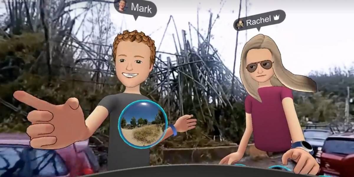 Mark Zuckerberg usa Realidad Virtual para visitar Puerto Rico en ruinas y le llueven críticas