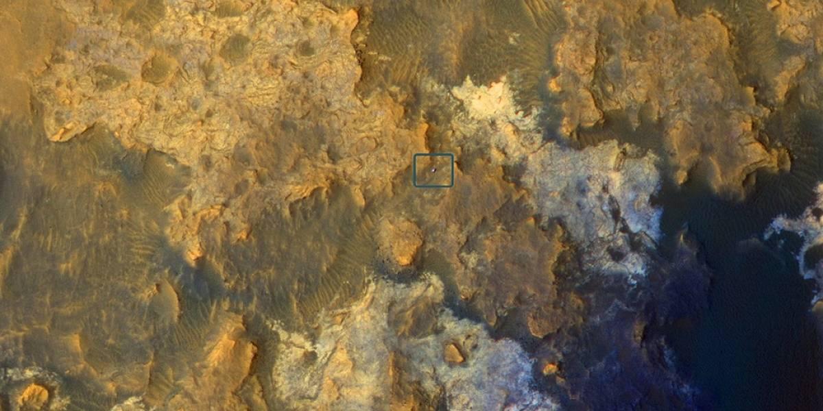 Curiosity detecta superficie continental en Marte