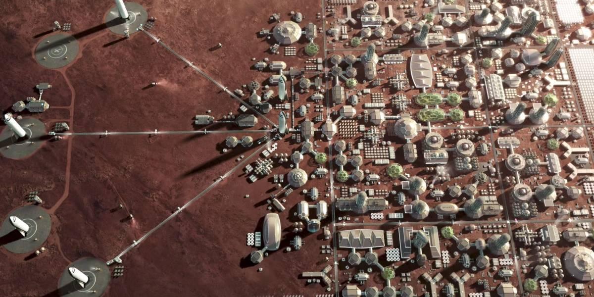 Elon Musk reajusta sus planes para llegar a Marte en 2022