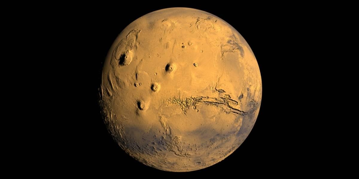 NASA lanza Mars Trek, la versión Google Earth de Marte