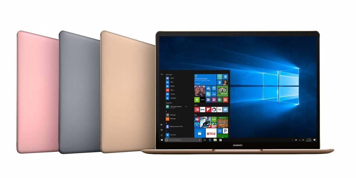 Los nuevos Huawei MateBook quieren competir con Surface y MacBook Air