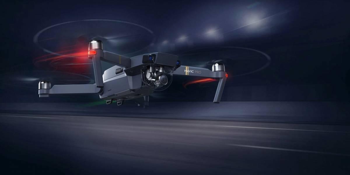 El minúsculo Mavic Pro es el nuevo dron plegable de DJI