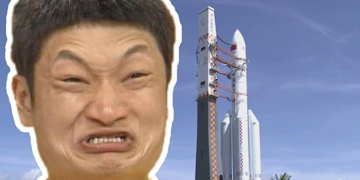 Se estrella cohete destinado a misión lunar organizada por China