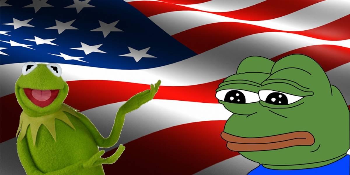 La rana René es la respuesta a la Rana Pepe en las elecciones de Estados Unidos
