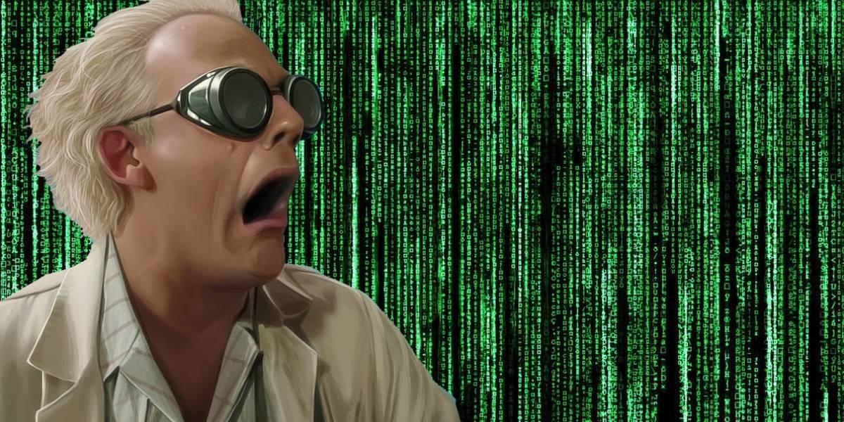 El tipo que diseñó el código de The Matrix revela de dónde sacó la idea