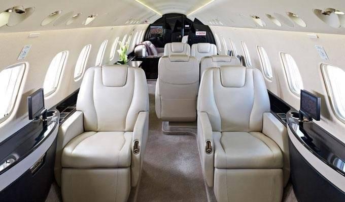 2º - Leo Messi tem um Embraer Legacy 650 avaliado em 28,3 milhões euros Divulgação
