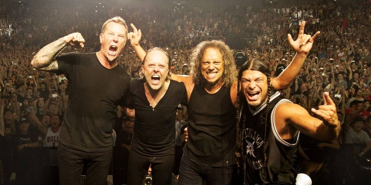 Vueltas de la vida: Todo el catálogo de Metallica regresa a Napster