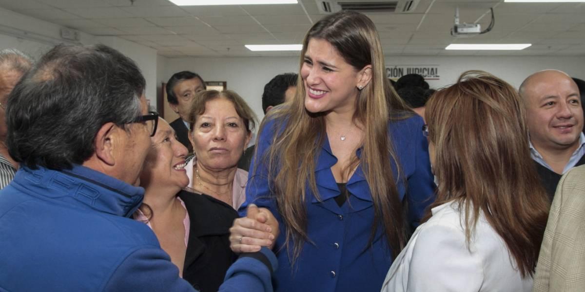 Jueza deja sin efecto sanción impuesta por el CAL contra Cristina Reyes