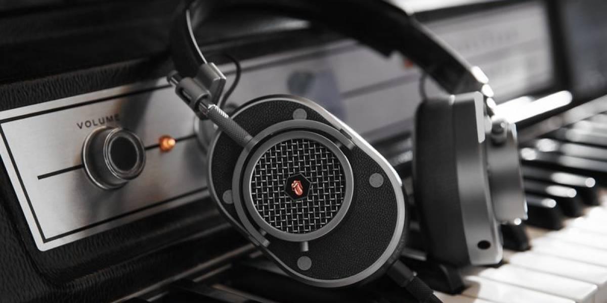 Spotify y Master & Dynamic presentaron audífonos de los Rolling Stones