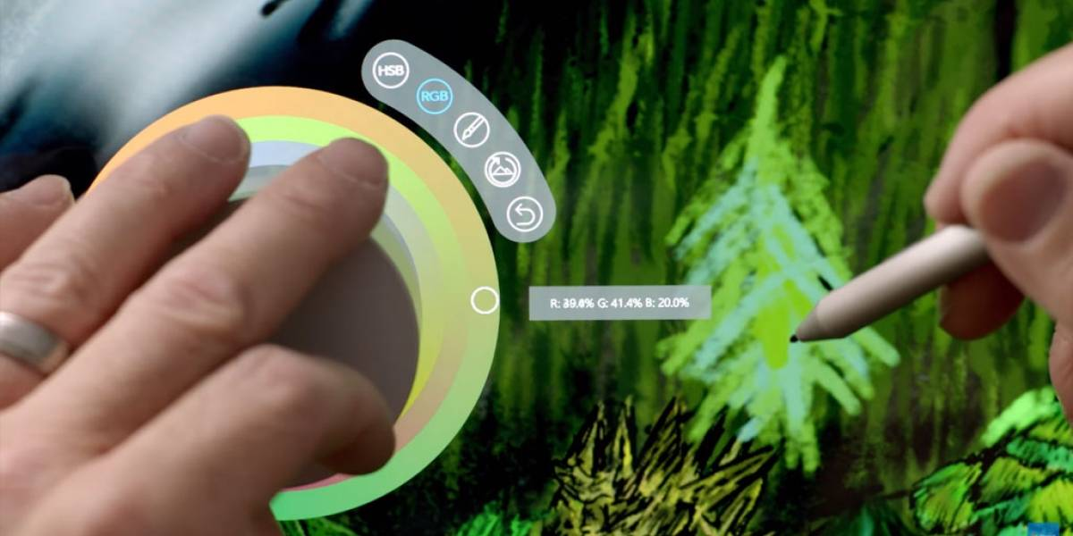 Así funciona la tecnología del Surface Dial #MicrosoftEvent