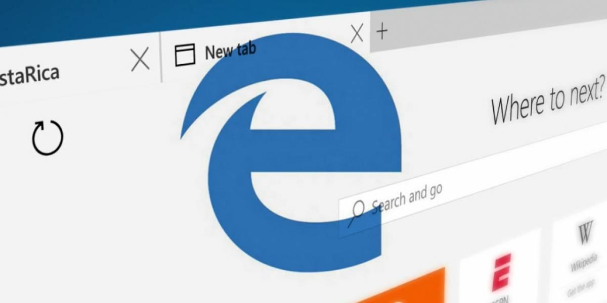 Microsoft Edge será actualizado mediante la Tienda Windows