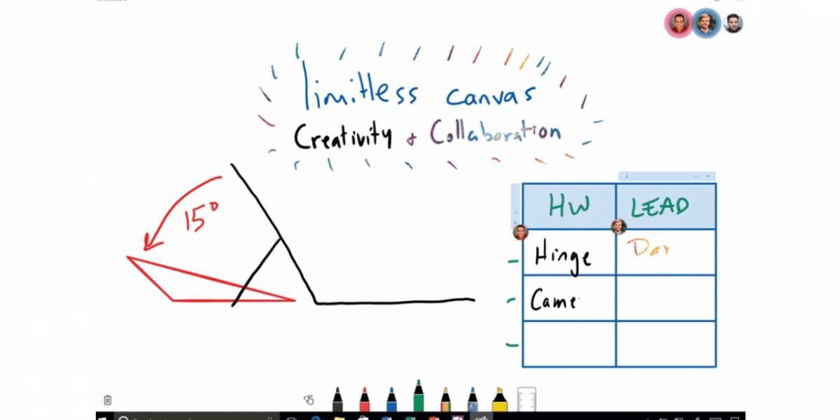 Microsoft lanza app para dibujar colaborativamente en tiempo real