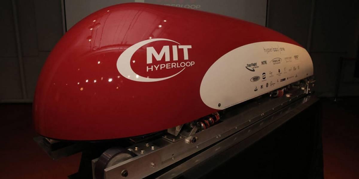 MIT presenta prototipo de su propio Hyperloop