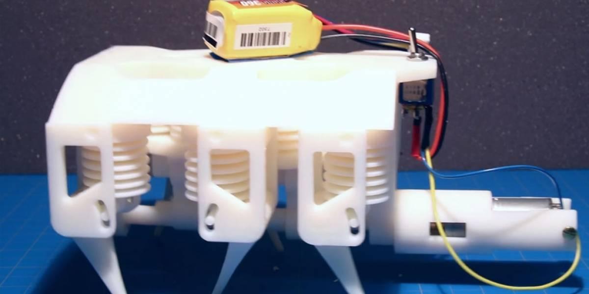 MIT crea impresora 3D de robots hidráulicos