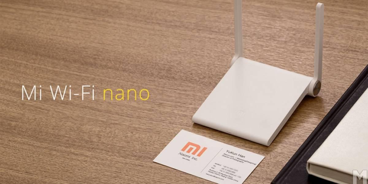 Xiaomi Mi Wi-Fi nano, un router portátil de apenas USD $12