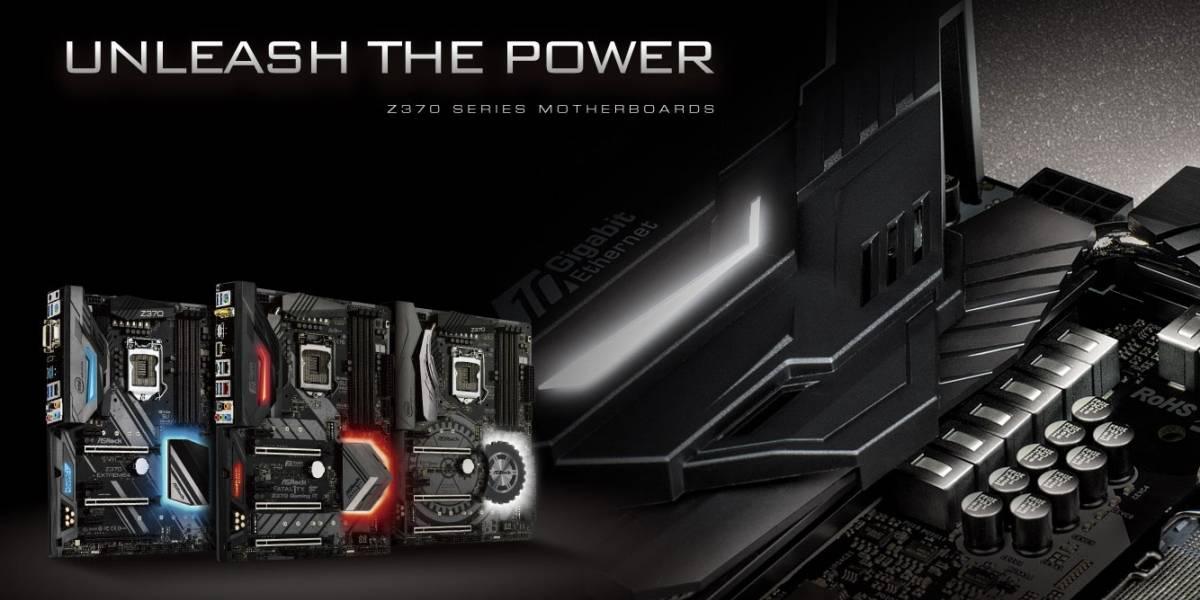 ASRock anuncia sus motherboards Z370 para Coffee Lake