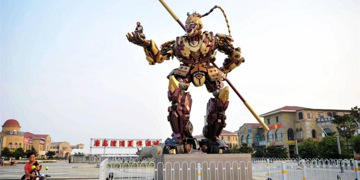 La batalla de robots gigantes podría sumar un nuevo robot-luchador hecho en China