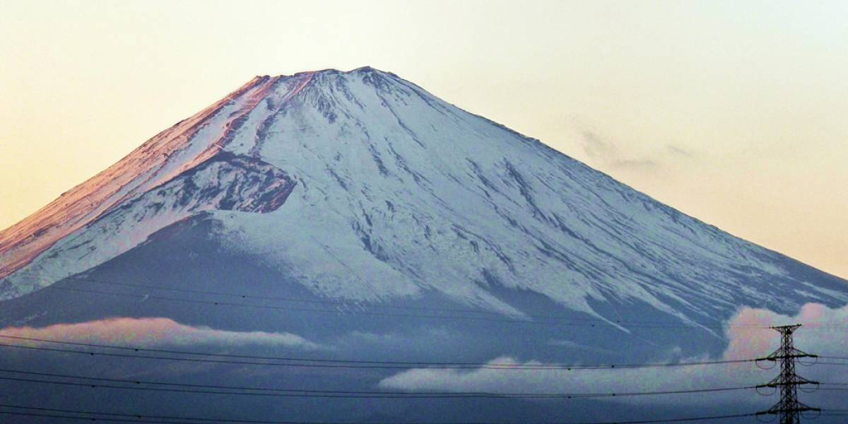 Japón instaló Wi-Fi en el monte Fuji