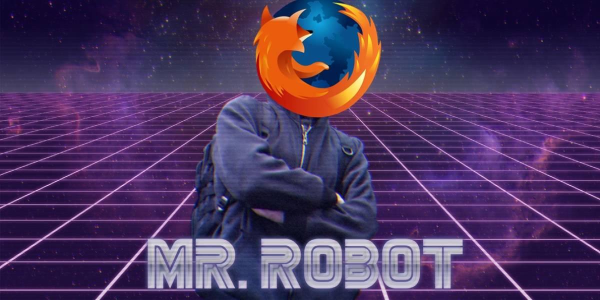 Mozilla se disculpa por instalar extensión para promover Mr. Robot