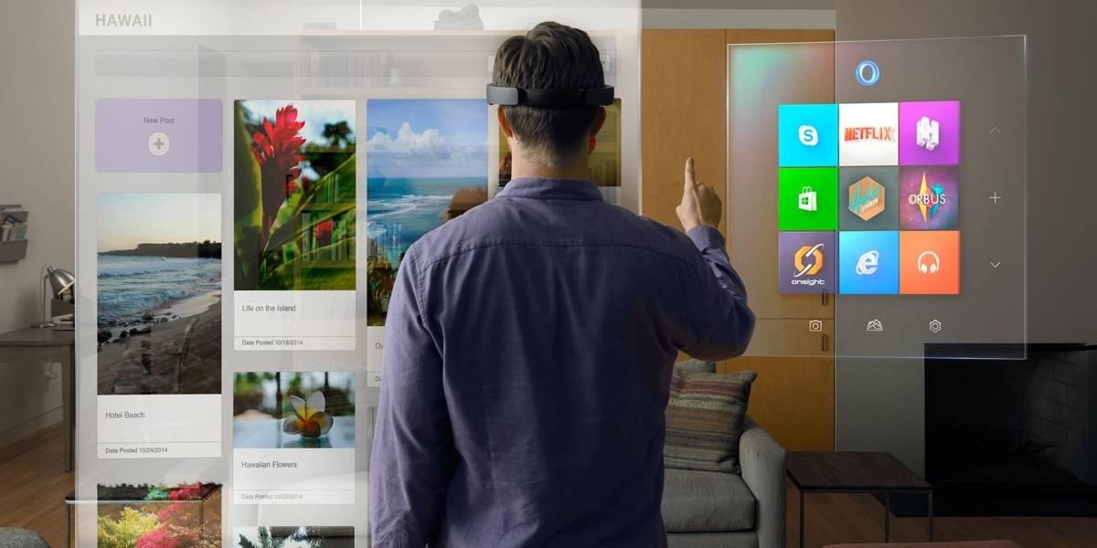 Microsoft anuncia HoloLens, sus lentes de realidad aumentada y hologramas