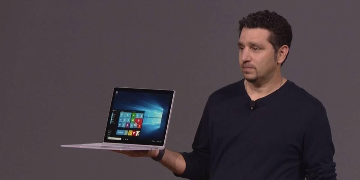 La nueva Surface Book llegaría con un nuevo diseño y pantalla 4K