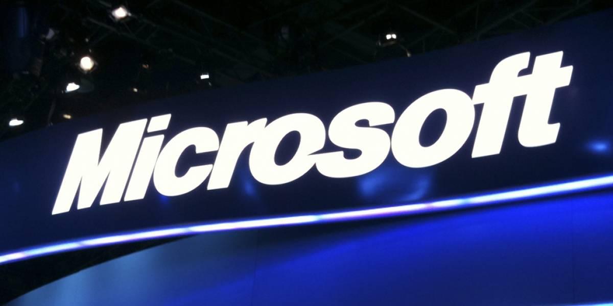 Acciones de Microsoft alcanzan su valor más alto en un año