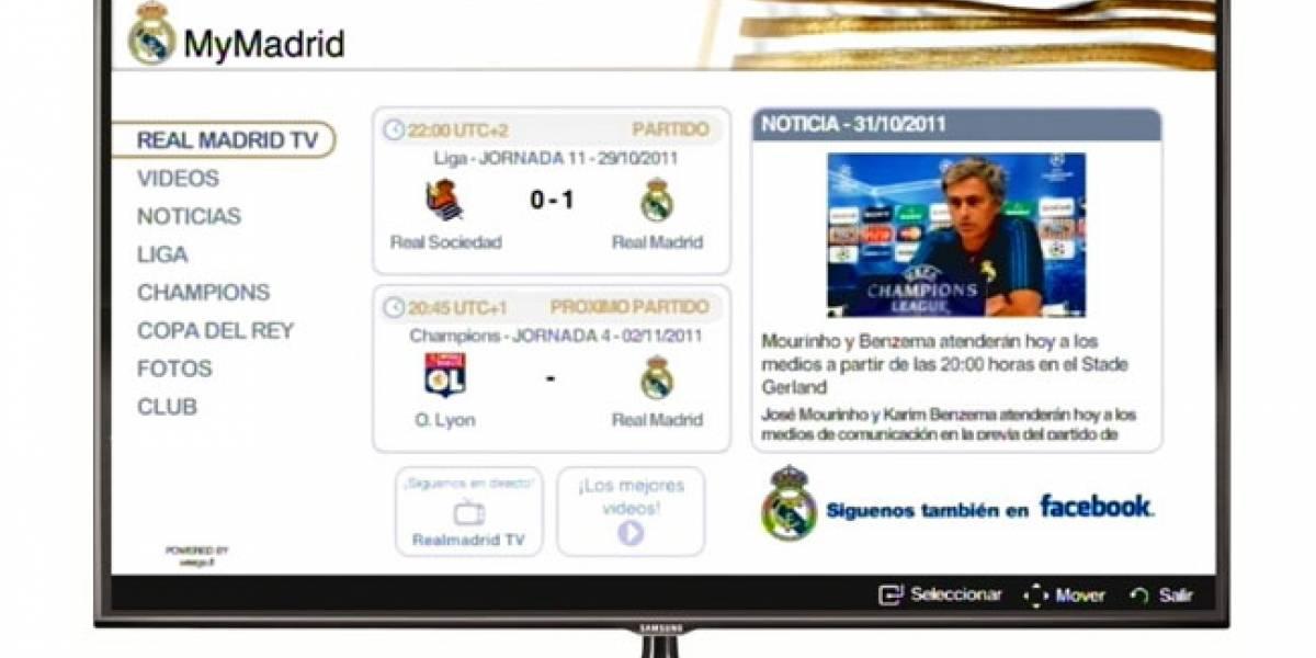 MyMadrid: La aplicación oficial del Real Madrid llega a las Smart TV de Samsung