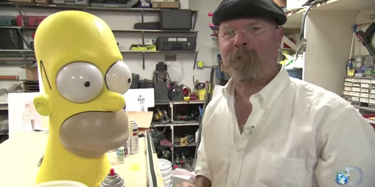 Mythbusters realizará un capítulo dedicado a Los Simpson
