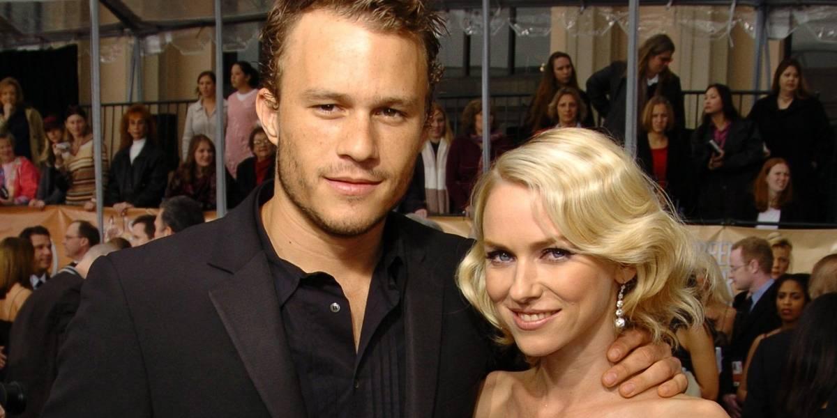 Naomi Watts faz emotiva homenagem a ex-namorado Heath Ledger no Instagram