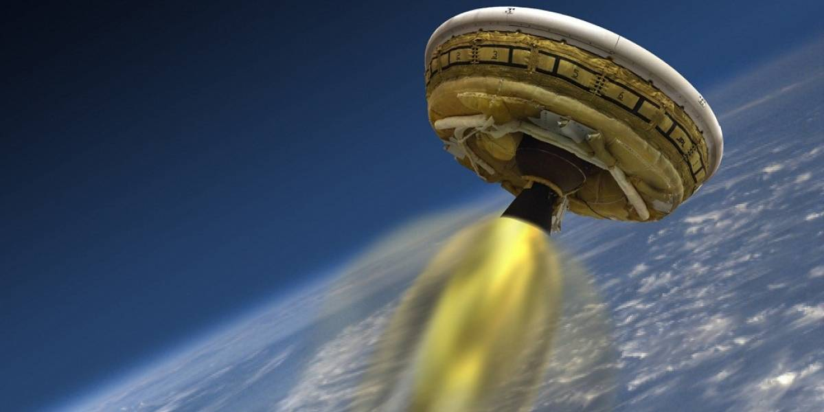 NASA probará nave con forma de platillo volador