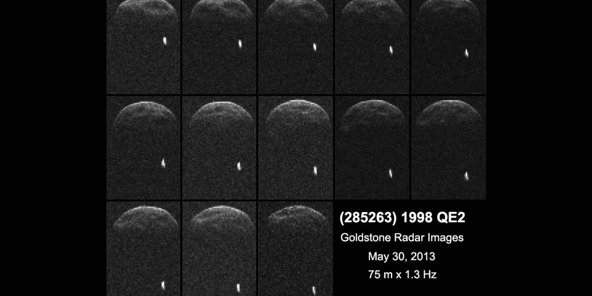 Sigue en vivo el paso del Asteroide 1998 QE2