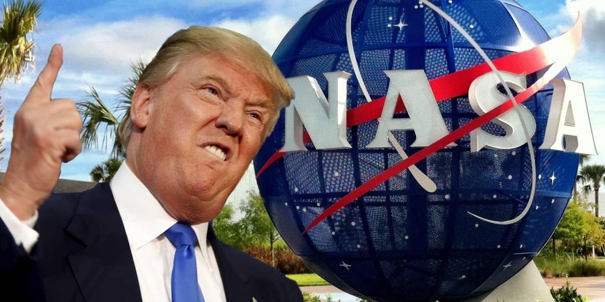 Trump quiere mandar astronautas al espacio y la NASA se niega