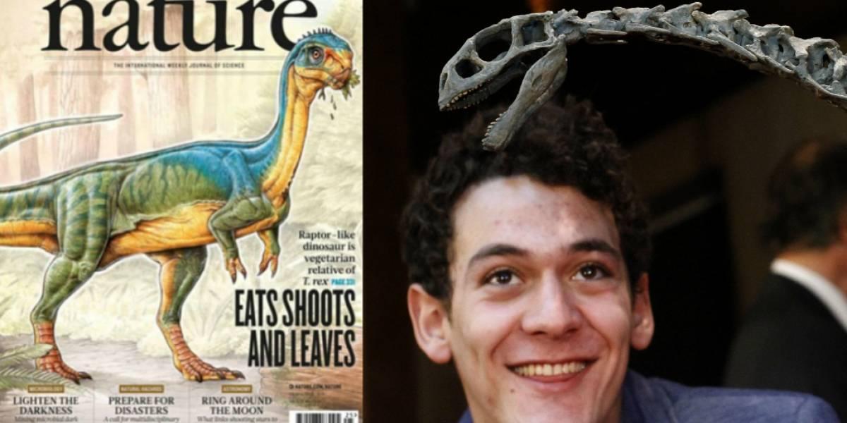 Chilesaurus diegosuarezi es portada de revista Nature
