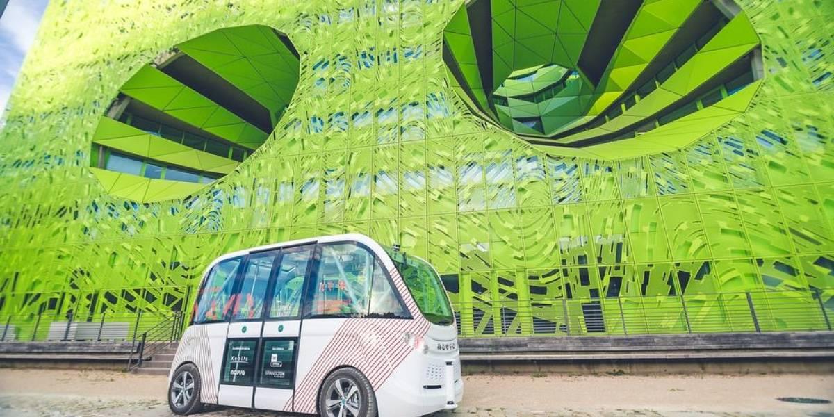 Navya lanza su primer automóvil autónomo en las calles de Las Vegas