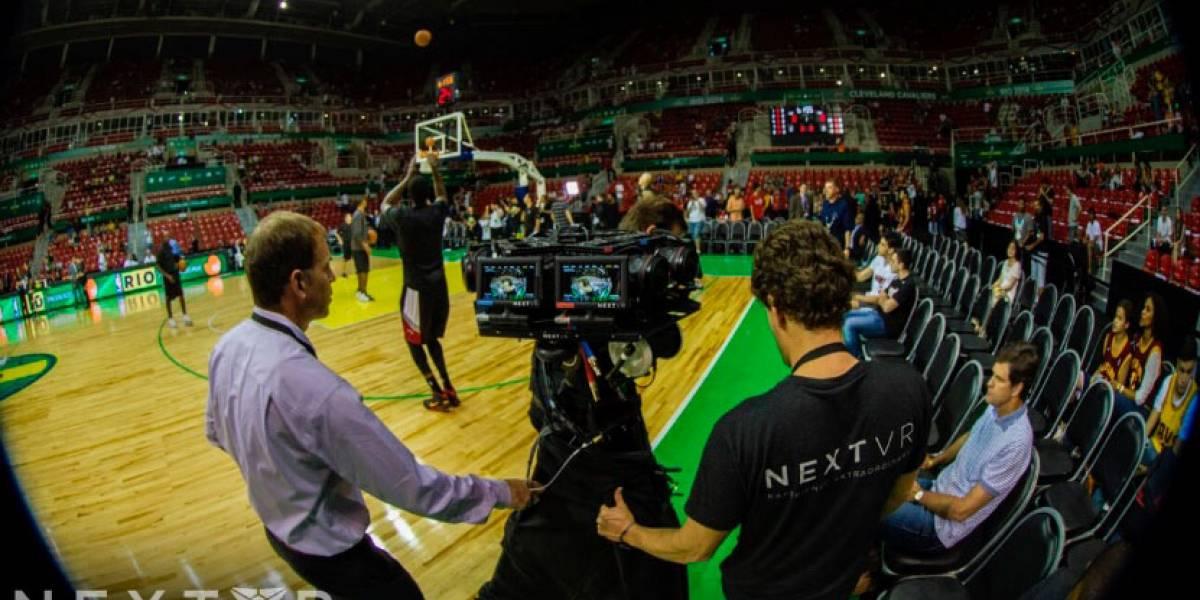 La NBA transmitirá juegos en realidad virtual