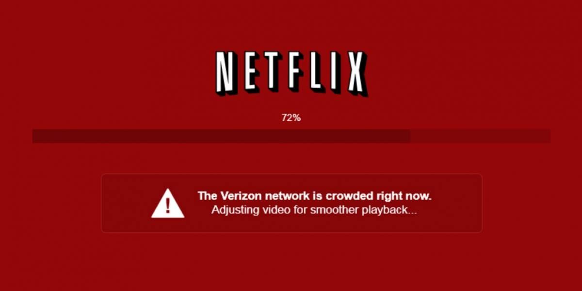 Netflix acusará a proveedores de Internet cuando baje la calidad del streaming