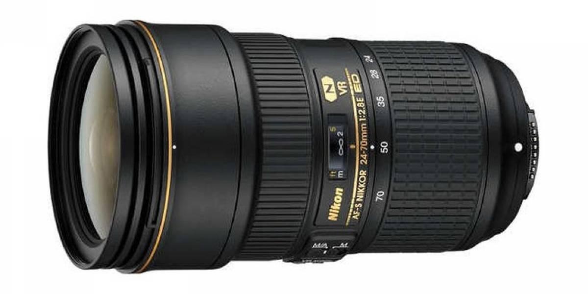 Nikon lanza una lente para cámaras full-frame con un peso de 1Kg y estabilización óptica
