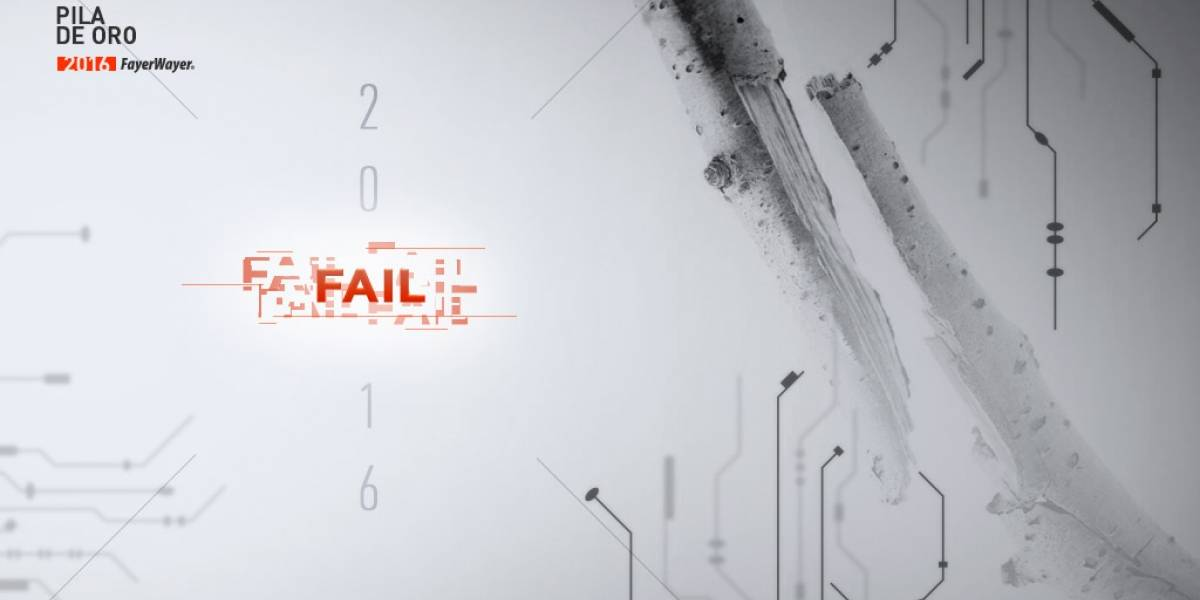 Vota por el Fail del Año [Pila de Oro]
