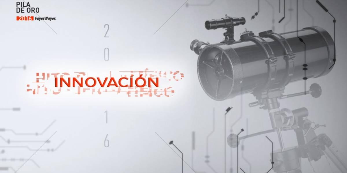 Vota por la Innovación del 2016 [Pila de Oro]