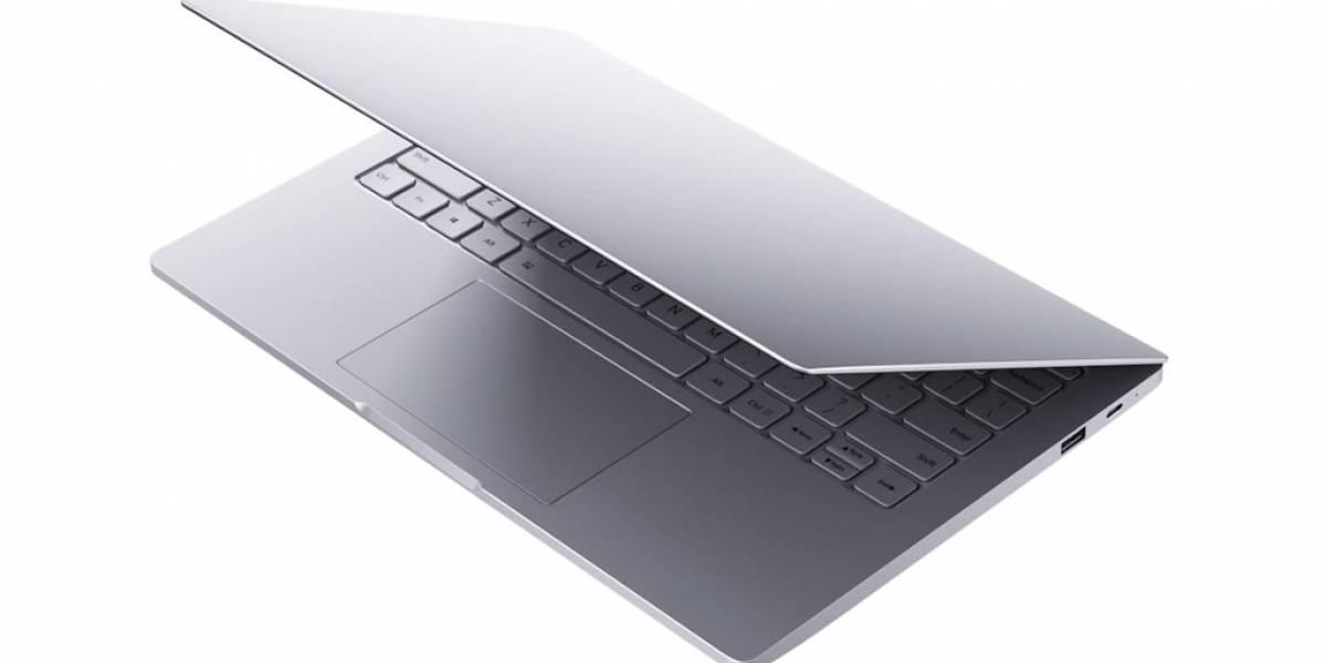 El primer notebook de Xiaomi es prácticamente idéntico al MacBook Air