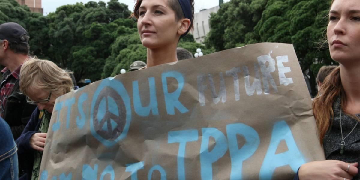 Donald Trump le hace la cruz al TPP