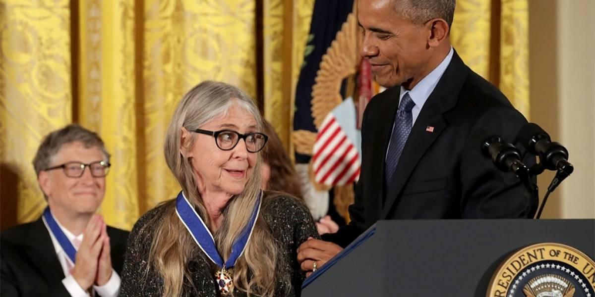 Bill Gates y Margaret Hamilton reciben Medalla de la Libertad 2016
