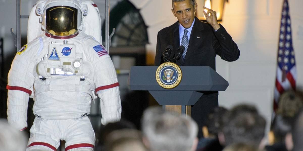 Barack Obama espera tener humanos en Marte para el 2030
